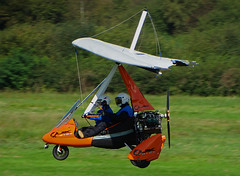 G-CITO Pegasus Quik (SteveDHall) Tags: gcito pegasus quik pegasusquik manchesterbarton cityairportmanchester bartonaerodrome barton airctraft weightshift microlight