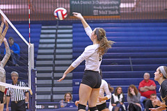 IMG_8335 (SJH Foto) Tags: girls volleyball high school york delone catholic team teen teenager jump spike burst mode