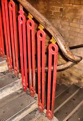 Hanwell (R~P~M) Tags: england uk unitedkingdom greatbritain train railway staircase stairs station gwr hanwell london balustrade baluster