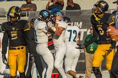 "State Final-478 (mark.calvin33) Tags: pontevedra football nightgame highschool pvhs runningback blocker offense defense kick pass catch hit tackle rush rushingyards rushing student quarterback tronti ""night ""friday night lights"" ""passing game"