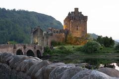 Eilean Donan Castle, Scotland (larasoligo) Tags: eilean donan castle scotland dornie medieval braveheart