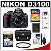 Nikon D3100 Digital SLR Camera & 18-55mm VR Lens with 16GB Card + Filter + Case + Accessory Kit (goodies2get2) Tags: amazoncom bestsellers giftideas mostwishedfor nikon toprated
