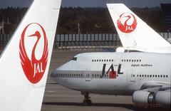 'J A L' (Longreach - Jonathan McDonnell) Tags: japan tokyo scan 1998 boeing boeing747 1990s 747 narita jal tokio japanairlines tokyonarita nikoncoolscanved scanfromaslide rjaa 21111998 11211998