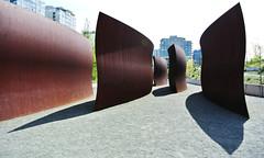 Olympic Sculture Park - Weiss Manfredi (geldmond) Tags: seattle park parque garden esculturas jardin richard sculture olympic serra weiss seaface manfredi