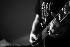 LTD (Laura Acua || LoQra!) Tags: argentina metal 50mm buenosaires nikon guitarra ltd deathmetal d7000