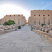 Corridor of Sphinxes leading to the first pylon - Karnak: The largest ancient
