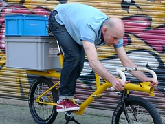 WorkCycles Bull-Hit Extreme Cargo Bike (@WorkCycles) Tags: bike bicycle extreme transport fast cargo position fiets cargobike transportfiets workcycles