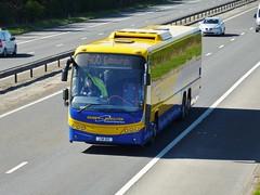 LSK 512 (Cammies Transport Photography) Tags: bus volvo coach edinburgh hamilton parks scottish m8 panther flyover 900 livingston citylink plaxton of lsk512