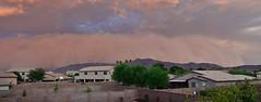 Dust Storm Panorama (sdacosta85) Tags: arizona phoenix monsoon thunderstorm duststorm 2014 haboob nikond7000