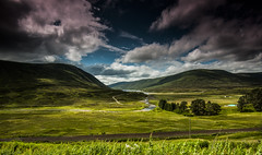 So I Pulled Into A Layby... (Colin Freeman Photography) Tags: travel trees sky cloud mountain lake colour water grass rock contrast river landscape scotland nikon scenery hill tokina highland filter nd loch grad lochan d90 1116mm