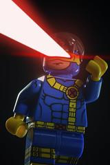 The Cyclops. (Andy @ Pang Ket Vui ( shootx2 )) Tags: toys lego cyclops beam hero laser marvel d800 105mm eclipsegrafx