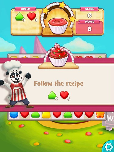 Cookie Jam Missions: screenshots, UI