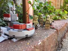 """""""Troopers4u command post seems abandoned..."""" (Troopers4u) Tags: starwars lego stormtroopers stormtrooper legostarwars sandtrooper clonetrooper clonetroopers sandtroopers legominifigures legography legographer"""