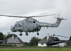 XZ691 Westland Lynx HMA.8 @ Plymouth City Airport. (Cornish Aviation) Tags: city airport arm air navy royal plymouth fleet westland lynx hma8 xz691