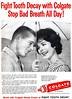 Colgate Toothpaste, 1960 (Tom Simpson) Tags: vintage advertising ad toothpaste colgate 1960 vintageadvertising badbreath vintagead