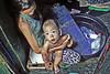 Happy Land... (carf) Tags: poverty woman baby children community child philippines poor mother forsakenpeople social manila shanty bathtub forsakenplaces washing survival slum filipinos aroma atrisk happyland childrenatrisk ulingan newsmokeymountain forasaken