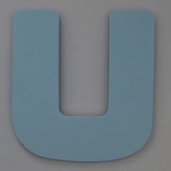 Foam Play Mat Letter U (Leo Reynolds) Tags: u letter uuu oneletter letterset grouponeletter xsquarex xleol30x xxx2014xxx