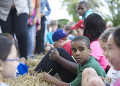 Hayrides are a popular tour choice every year at the annual June Supper