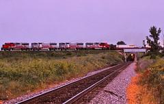 Edelstein, Illinois (UW1983) Tags: santafe trains railroads warbonnet edelstein cnw chicagonorthwestern chillicothesub