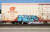 Riyet (quiet-silence) Tags: railroad art train graffiti railcar graff freight reefer fr8 cryx cryo cryotrans obq cryx5186 riyet