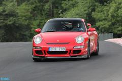 Porsche 997 GT3 (Kristof E.) Tags: red july porsche juli gt3 997 nordschleife 2014 nrburgring touristenfahrten