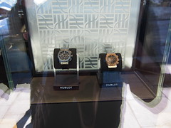 If you're tired of skiing, its always possible to spend 100.000  US on a watch!