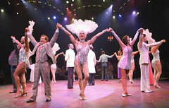 Cast of La Cage aux Folles, produced by Music Circus at the Wells Fargo Pavilion August 19-24, 2014. Photos by Charr Crail.