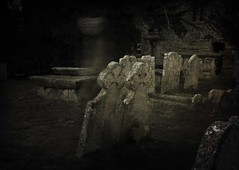 Ghostly (IanSeccombe) Tags: churchyard 13 ghostly