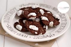 Biscotti craquel al cioccolato (Sabrina C. Fotografie) Tags: cookies sugar cocoa cioccolato biscotti cacao aworldofchocolate