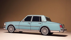 (jcarwil) Tags: jason classic car paper toy model artist williams designer craft seville cadillac 1975 1978 1970s 1977 1979 1976 papercraft 2014 jcarwil