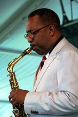 Donald Harrison at the Newport Jazz Festival 2014, August 1-3, Newport, Rhode Island