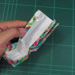 วิธีพับกล่องของขวัญแบบมีฝาปิด (Origami Present Box With Lid) 037