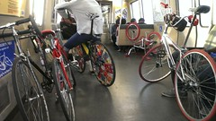 en route to union city (citymaus) Tags: party bike bart bikes august bayarea eastbay 2014 eastbaybikeparty