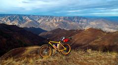 Waha Two Canyons Loop (Doug Goodenough) Tags: china summer bike bicycle creek climb ride fat 14 august dirt aug pugsley surly gravel steep waha 2014 fatbike drg53114 drg53114p waphillia drg53114pwhapchina drg531ppugsley