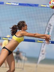 P8152052 (roel.ubels) Tags: beach sport scheveningen denhaag beachvolleyball volleyball thehague volleybal nk 2014 beachvolleybal nevobo