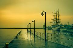 Harbor in Gdynia