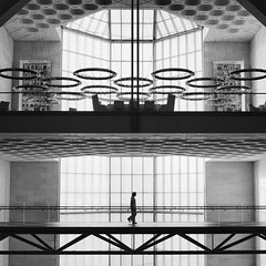 MIA (marco ferrarin) Tags: blackandwhite art architecture square waterfront geometry islam middleeast olympus arab mia doha qatar impei kandoora   ieohmingpei em5  innamoramento museumofislamicart