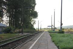Piekoszw train station 17.08.2014 (szogun000) Tags: railroad station canon platform tracks poland polska rail railway pkp witokrzyskie d2961 canoneos550d canonefs18135mmf3556is piekoszw