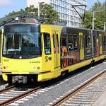 U-OV Sneltram/U-Tram stellen 5010 en 5017, 5 mei plein, Utrecht thumbnail