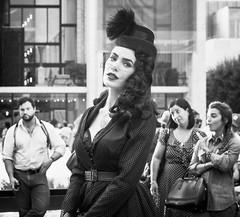 MBFW 2014 p15 (mkc609) Tags: street nyc newyorkcity urban blackandwhite bw ny newyork blackwhite candid streetphotography gothamist lincolncenter fashionweek mbfw mbfw2014 mercendezbenzfashionweek
