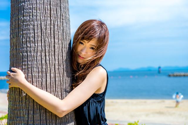 Miki Kondo in Waikiki 08