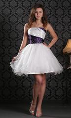 Nifty Strapless Glitter Tulle Short Homecoming Dress KSP120 (merry.br11) Tags: uk homecoming prom dresses short gowns princessdress graduationdress shortpromgowns sweet16dresses kissprom shortpromdressesuk