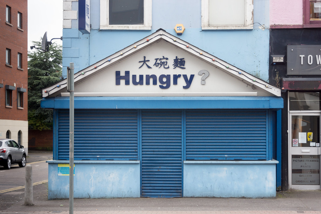 HUNGRY? ON THE STREETS OF BELFAST Ref-788