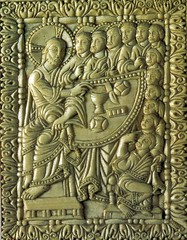 The Gospel of St. Luke 22  19-22 Establishing the mystery of the Last Supper - By Amgad Ellia 15 (Amgad Ellia) Tags: st mystery by last 22 luke supper 1922 gospel amgad ellia the establishing