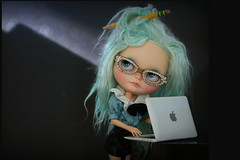 Blythe A Day ~ September 2014 ~ Day 15:  Nerds Are Cool