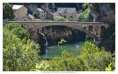 Saint Chely du Tarn (Dominique Rolland ( Laouleventmeporte )) Tags: france nikon europe rivire reflet dominique t maison toit tarn cascade arbre rol