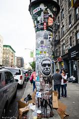 Feast of San Gennaro '14 - XVI (RGL_Photography) Tags: nyc newyork stickerart unitedstates stickers littleitaly mulberrystreet feastofsangennaro sangennarofeast stickerbombing stickertagging stickerslapping nikon18105mmf3556vr nikond7000