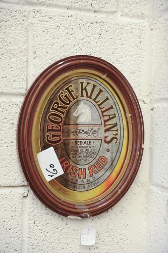 George Killians Mirror € 80