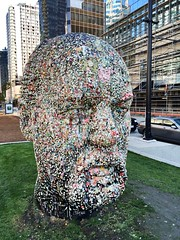 ye olde gum head (knitgirl) Tags: art vancouver gum smelly douglascoupland
