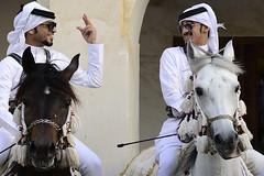 HORSES (BoazImages) Tags: qatar qatari emirati persiangulf horse horses tradition traditional culture documentary arab arabia middleeast horseriding